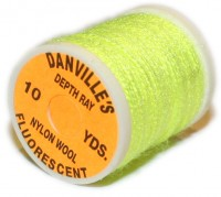 Danville's Depth Ray Nylon Wool - Fl. Yellow