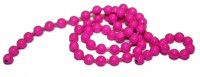 Bead Chain Eyes Medium - Fluo Pink