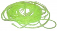 Mini Flat Fly Braid - Fluo Chartreuse