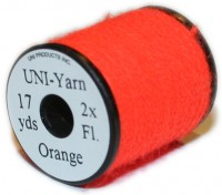 Uni-Yarn 2x - Fl. Orange