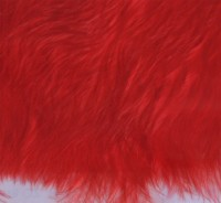 Wooly bugger marabou red